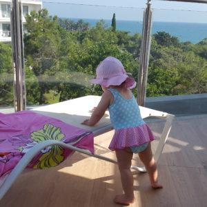 Babyfreundlich Terrasse